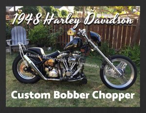 1948 Harley Davidson Custom Bobber Chopper