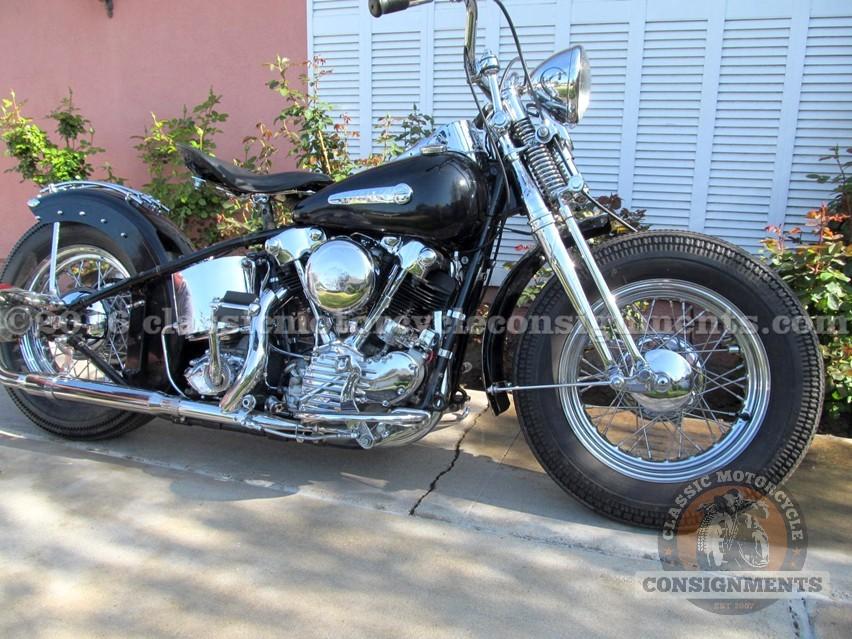 1946 Harley Davidson EL Knucklehead Bobber
