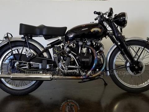 1949–1953 Vincent Rapide Black Shadow Motorcycle