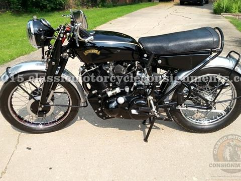 1955 Vincent Black Shadow Series D Motorcycle