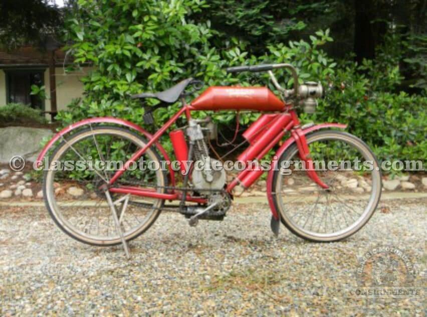 1907 Indian Motocycle Original Motocycle Touring Tank