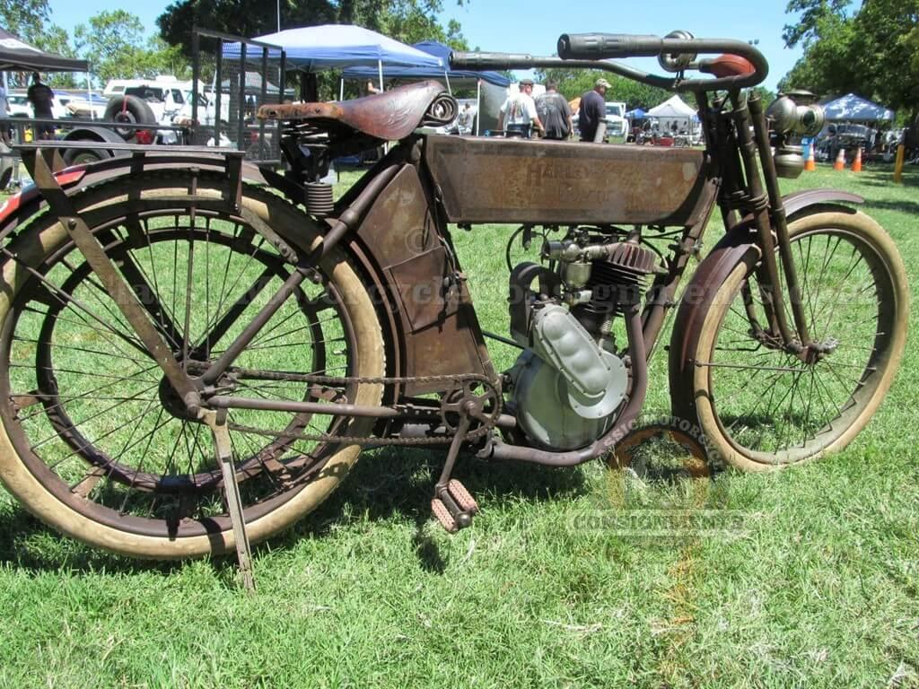 1911 Harley Davidson 7A Motorcycle