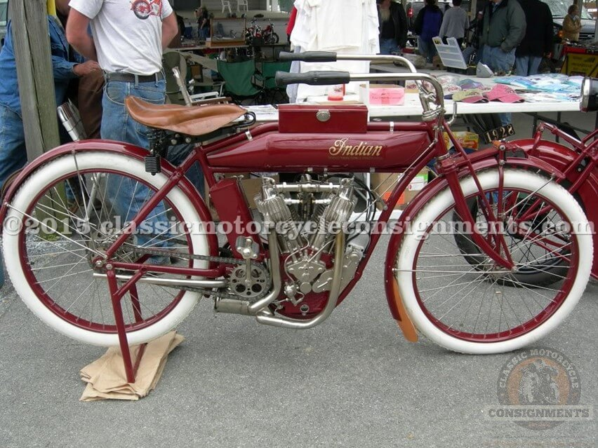 1912 INDIAN STANDARD TWIN CHAIN DRIVE