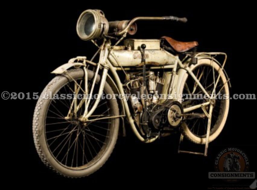 1912 Indian Motorcycle Twin Cylinder Single Speed 100 YEARS OLD