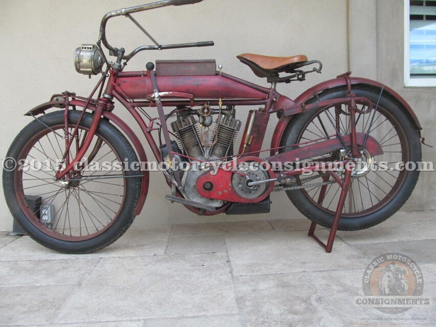 1913 Indian Twin Cylinder – Single Speed
