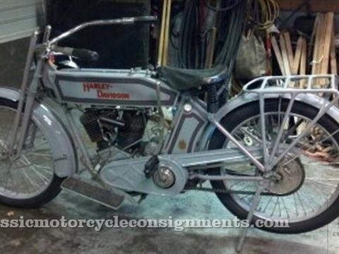1914 Harley Davidson Restored Model 10-E