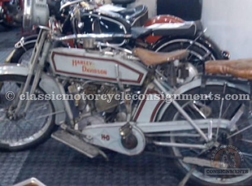 1914 Harley Davidson Twin 2 speed Original Paint