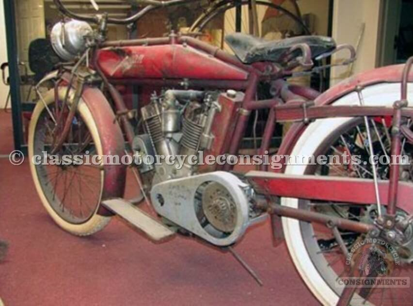 1914 Indian Regular Model – Twin Cylinder