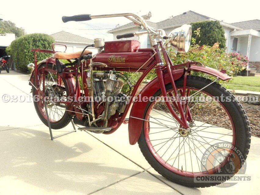 1915 Indian Big Twin Motorcycle