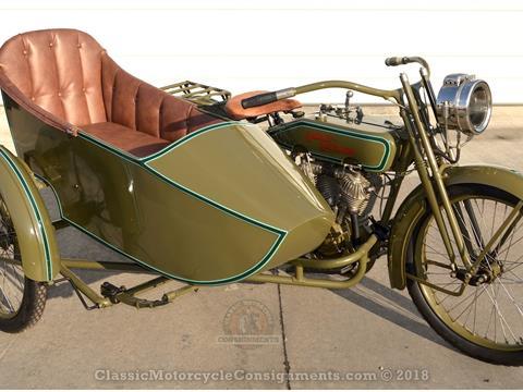 "1920 Harley Davidson — 988.83 cc V-twin– Model 20-FS ""T"" Sidecar — SOLD!!"