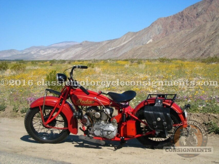 1928 Indian 101 Scout Motorcycle