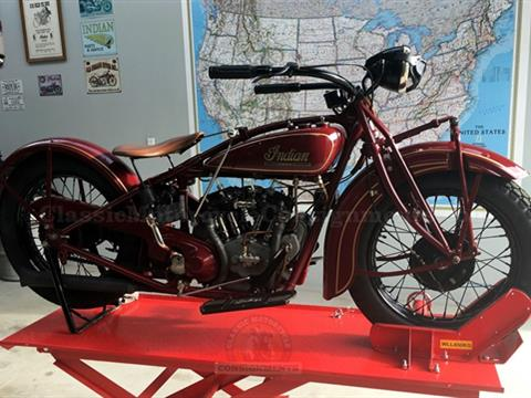 1928 Indian 101 Scout Motorcycle 37″
