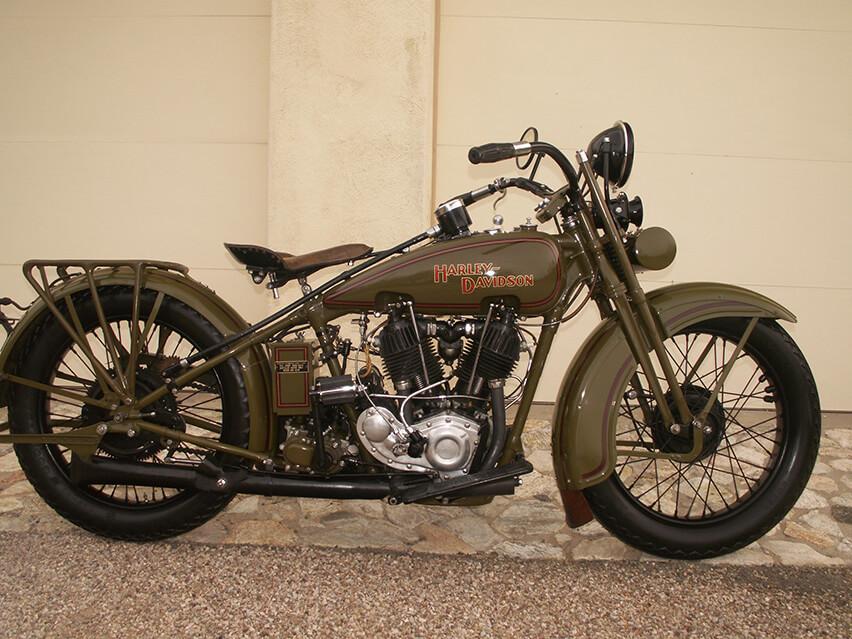 1928 Harley Davidson JDH Twin Cam Motorcycle