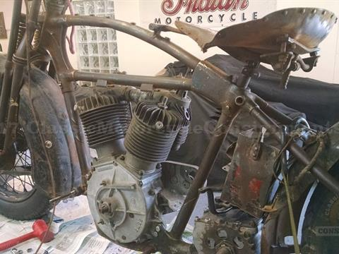 1929 Harley Davidson JD Motorcycle Project