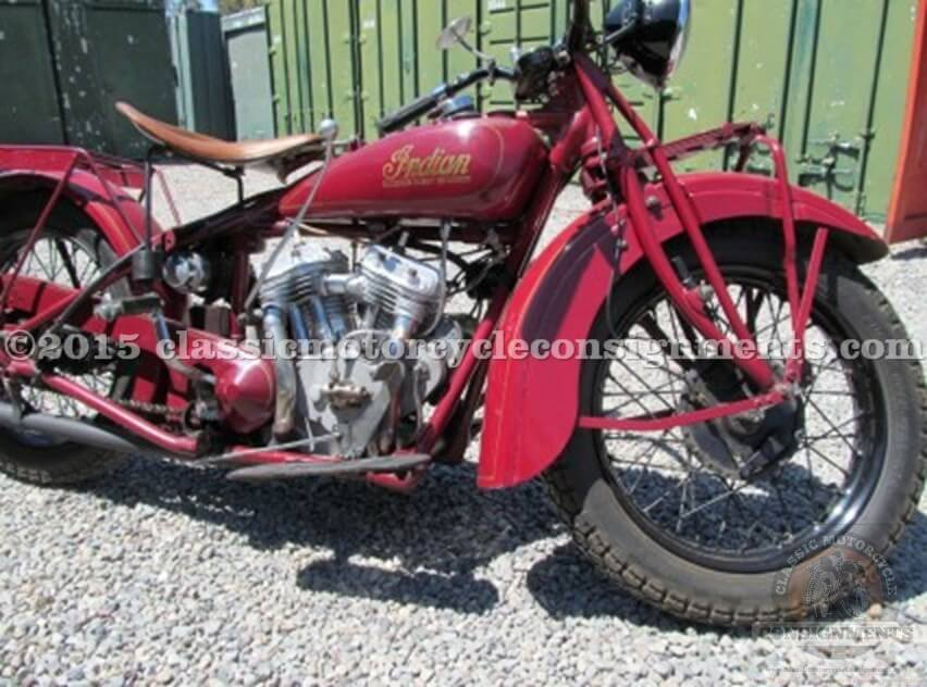 1929 Indian 101 Scout, Sucher Collection