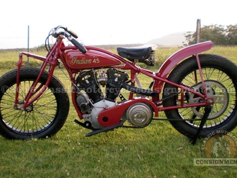 1930 Indian Scout A45 No.12 of 25