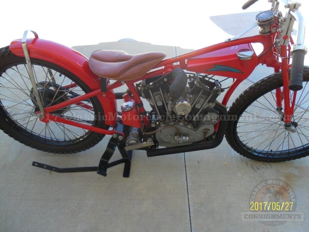 1933 Indian Crocker Speedway Motorcycle Re-Creation — SOLD!!