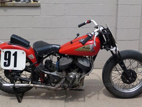 1936 Indian Sport Scout Racer