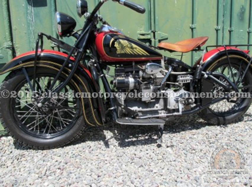 1938 Indian Four, Sucher Collection