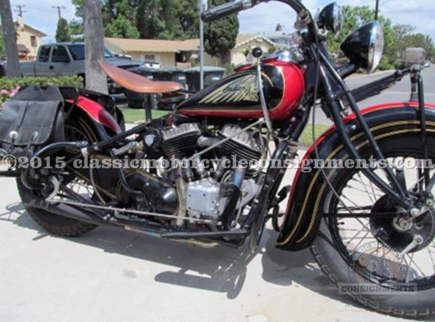 1938 Indian Chief, Sucher Collection