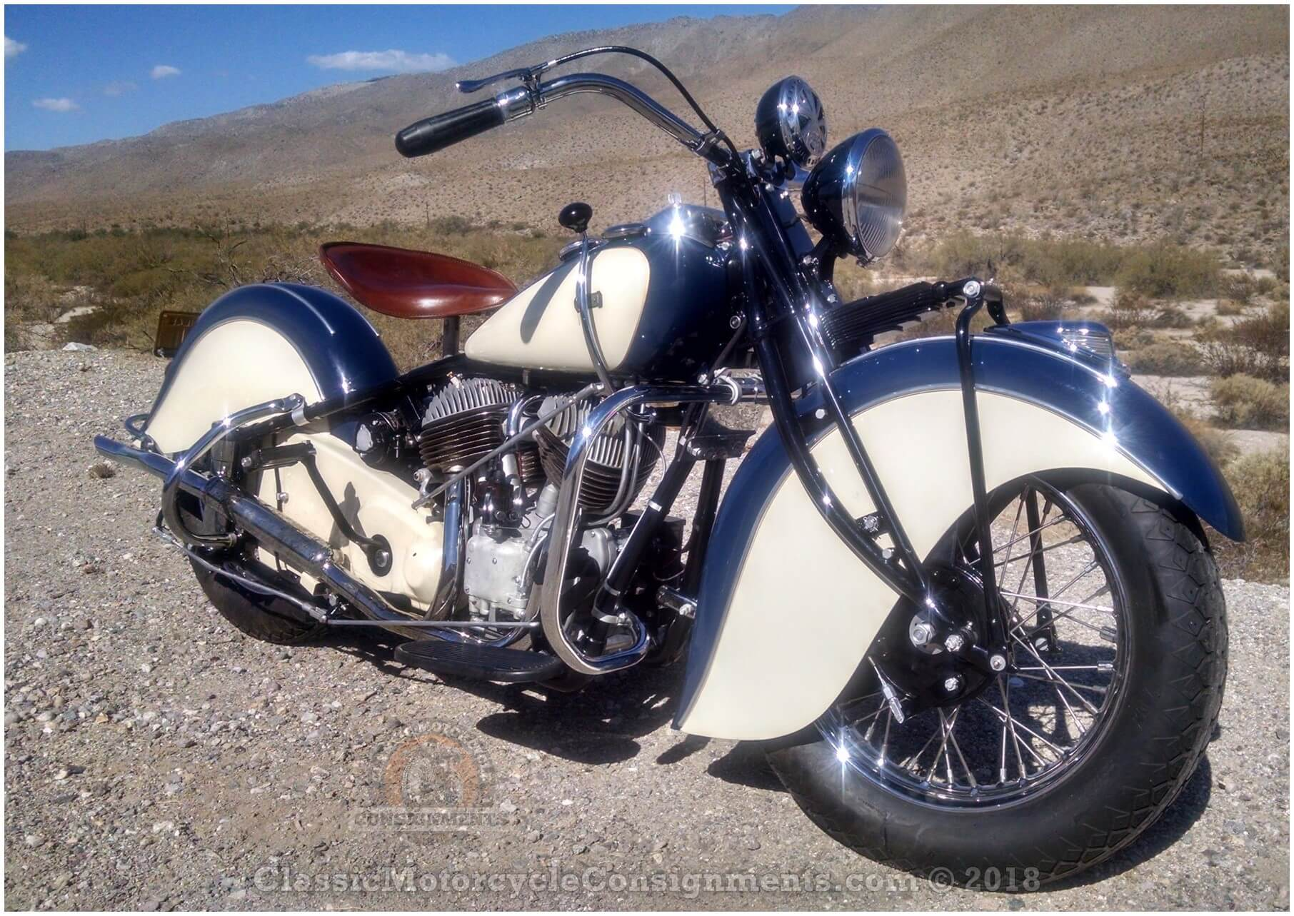 1940 Indian Chief Motorcycle – SOLD!!