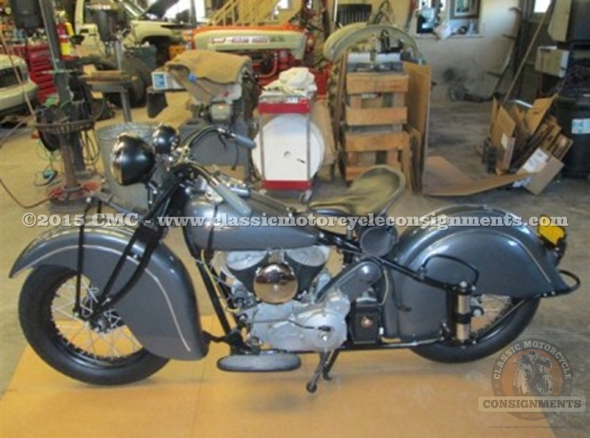 1940 Indian Chief w/1947 Engine