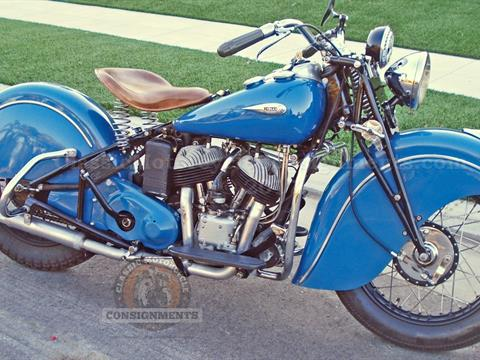 1940 Sport Scout 640-B Motorcycle (Hatfield)