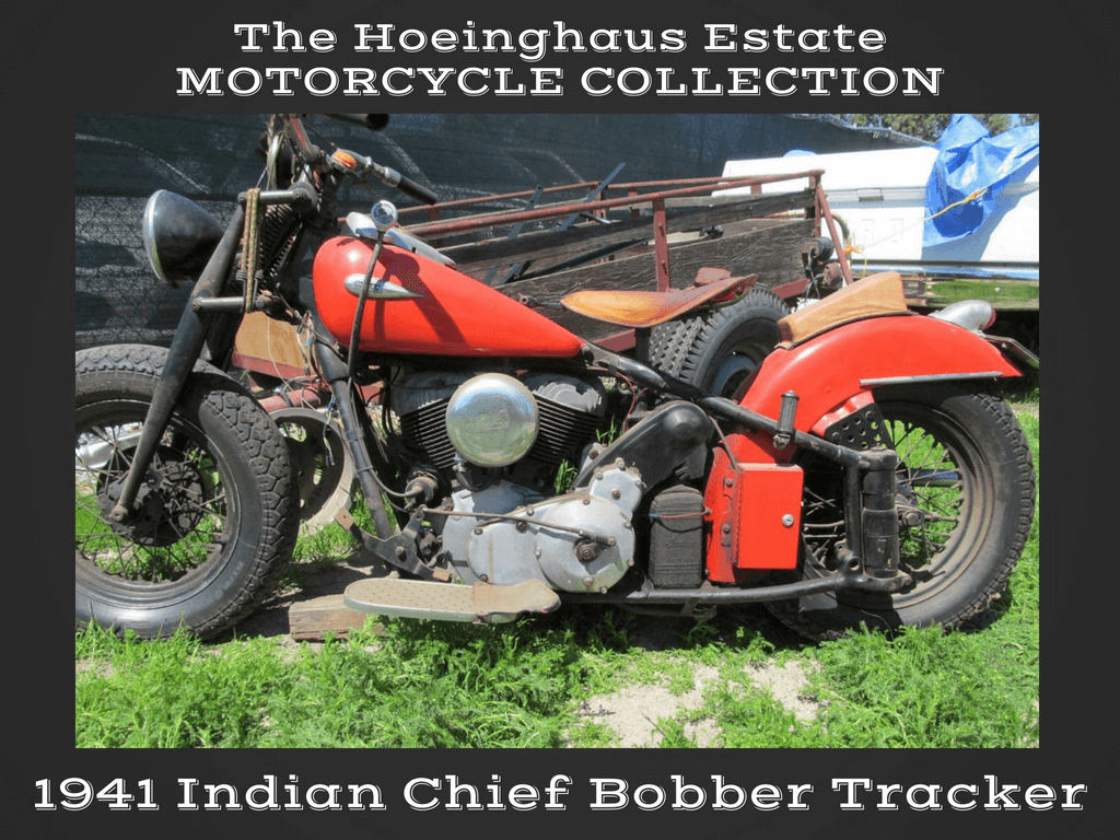1941 Indian Chief Bobber — Hoeinghaus Col