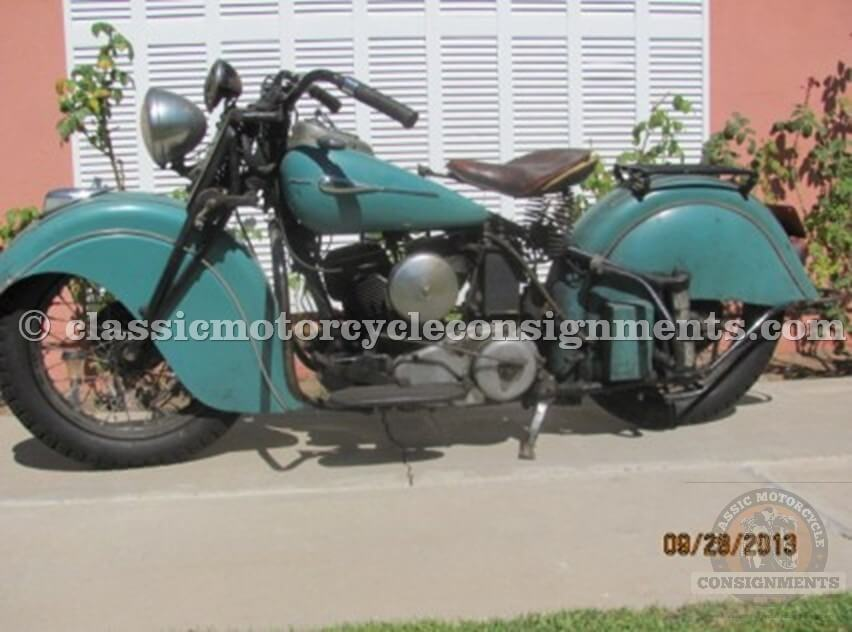 1941 Indian Scout, Sport Scout Used Original Paint