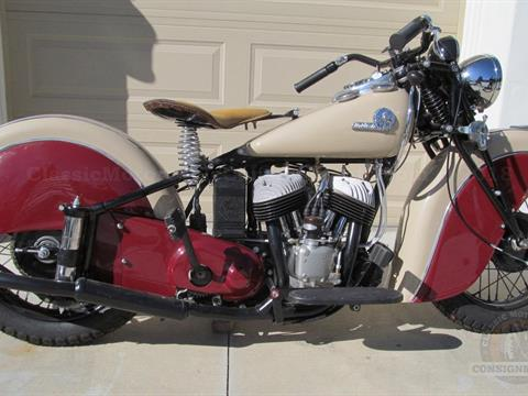 1942 Indian Sport Scout Motorcycle