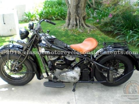 1944 Indian Chief Motorcycle — Essential Use