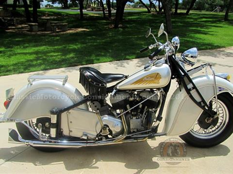 1945 Indian Chief Civilian Model Motorcycle
