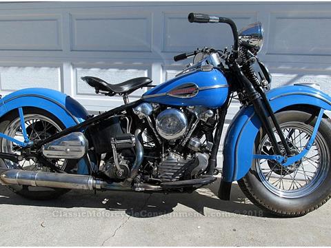 1946 Harley Davidson FL Knucklehead