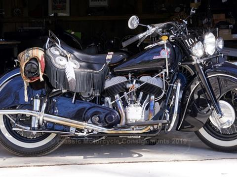 1946 Indian Chief — Packard Blue