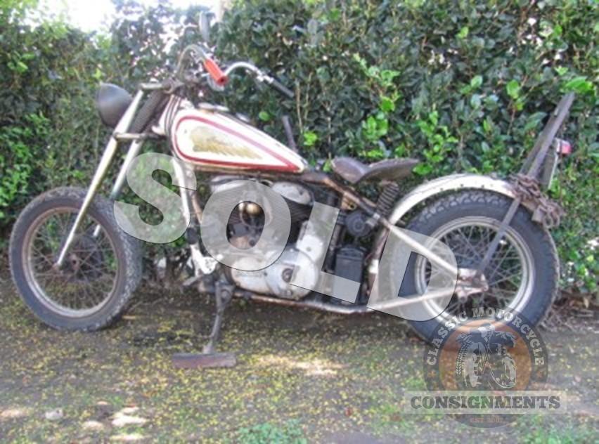 1946 Indian Bobber Steve McQueen Prototype