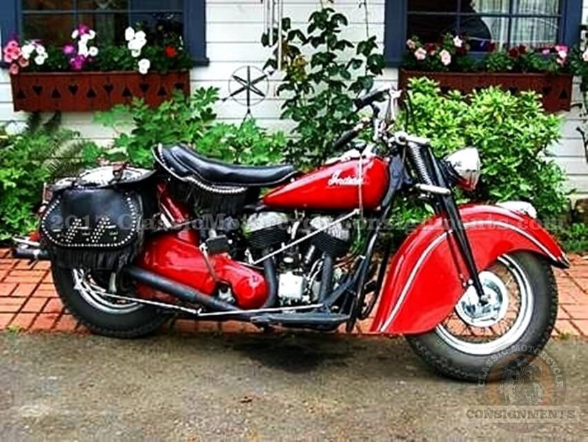 1947 Indian Chief Motorcycle — SOLD!