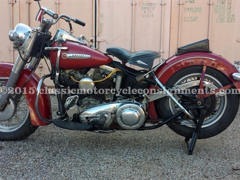1948 Harley Davidson EL Panhead Motorcycle