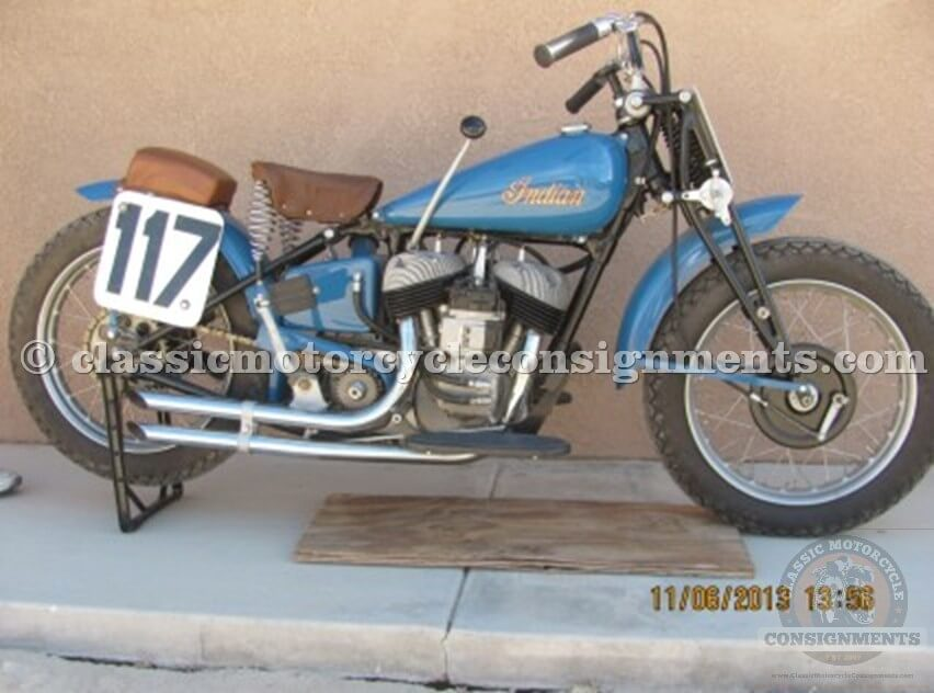1948 Indian Scout Daytona Racer,648 Factory Original, Restored