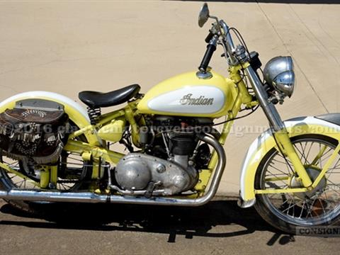 1949 Indian Scout Super Sport 249 Twin Motorcycle