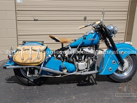 1950 Indian Chief Motorcycle