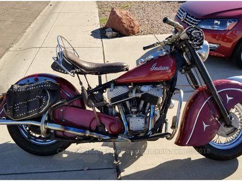 1950 Indian Chief – Restored, Original– SOLD!!