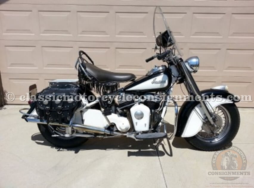 1950 Indian Chief Restored, Used, Original Motorcycle, Matching Numbers