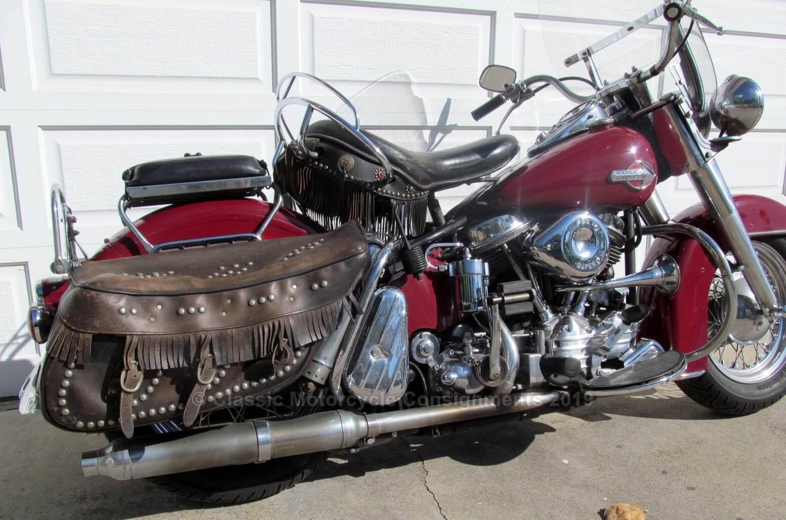 1959 Harley Davidson FLH Custom 98-Inch 4-Speed Electric Start — SOLD
