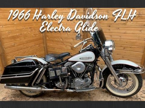 1966 Harley Davidson FLH Electra Glide