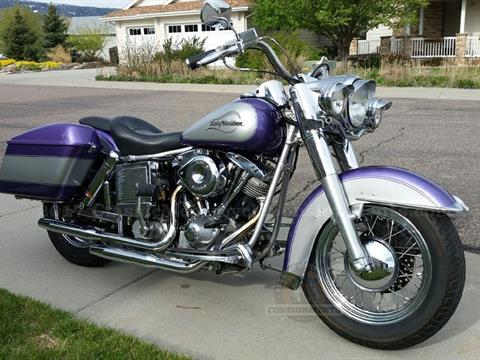 1974 Harley Davidson Shovelhead FLH Electra Glide Motorcycle