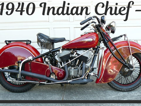 1940 Indian Chief — SOLD!