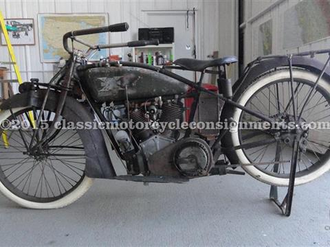 1915 Excelsior – 3-Speed Motorcycle – Big X – Original Paint – Mechanically Restored