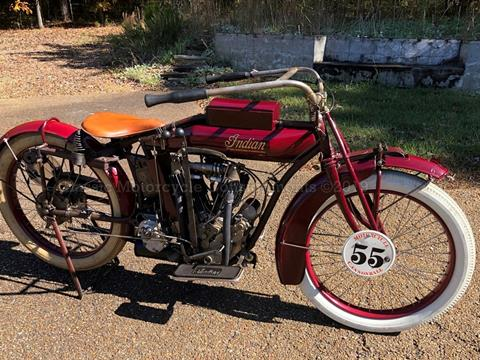 1915 Indian Big Twin 3-Speed — Cannonball Survivor – SOLD