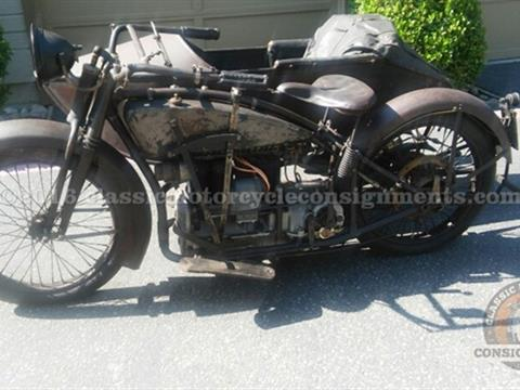 1920 ACE FOUR Cylinder Motorcycle