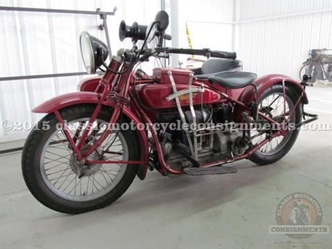 1924 Henderson Four Cylinder with Goulding Sidecar